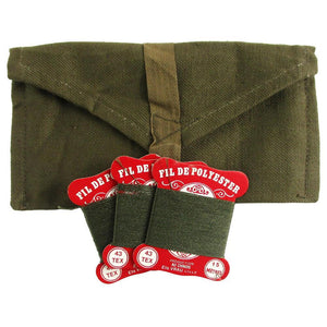 French Army Vintage Sewing Pouch