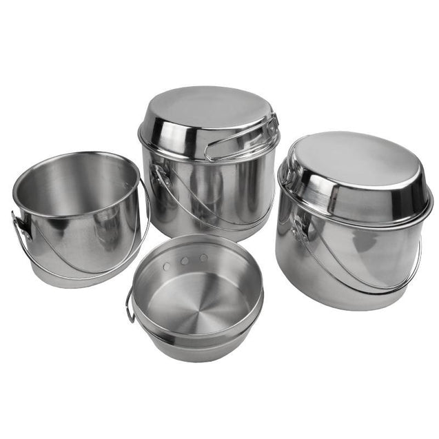Six Piece Camping Cook Set