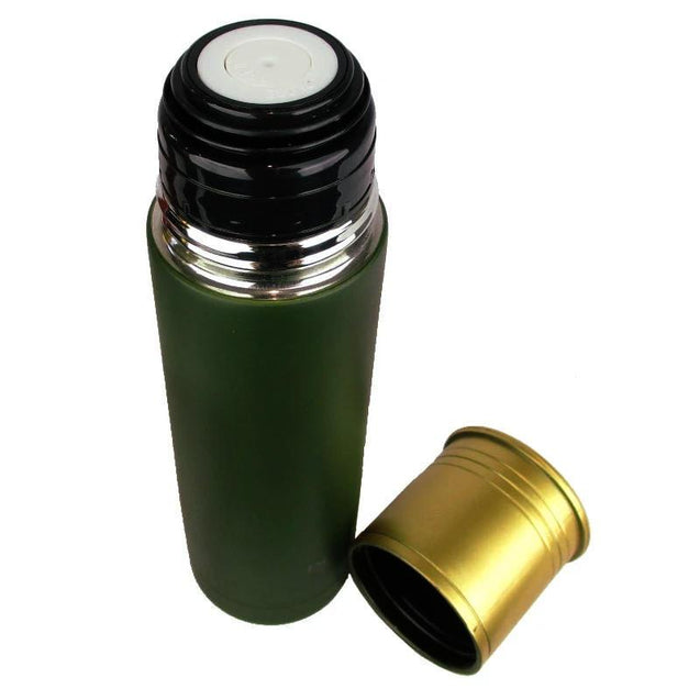 Cartridge Thermos Flask - Green