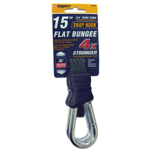 Flat Bungee Cord With Carabiners