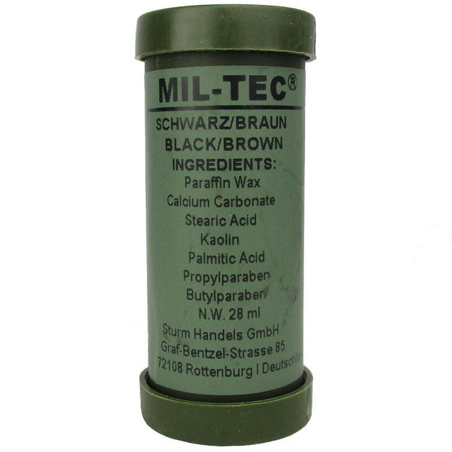 Camo Face Paint Stick - Black and Brown