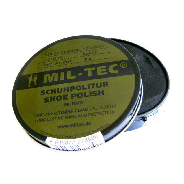 Mil-Tec Black Shoe Polish