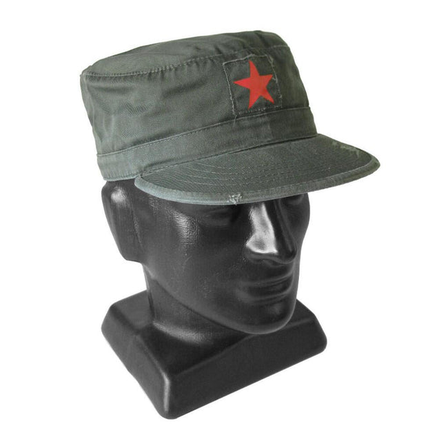 Vintage Fatigue Cap - Red Star