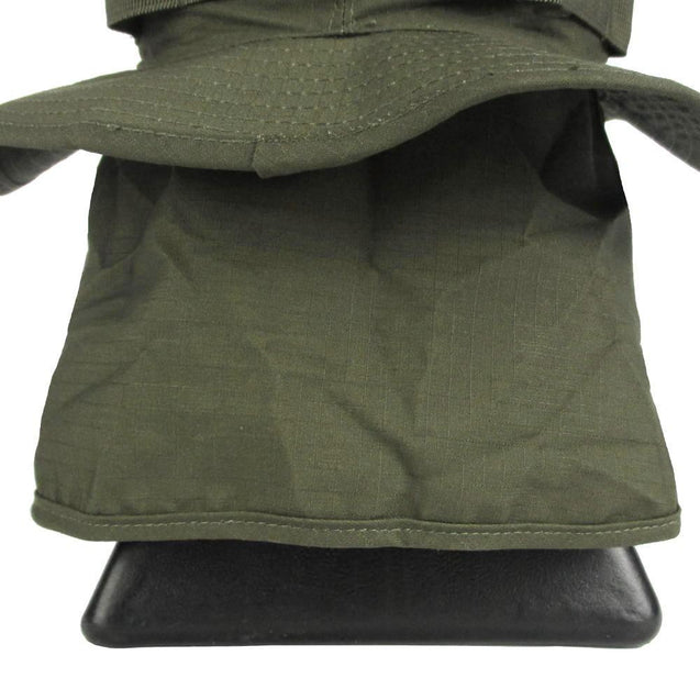 Olive Drab Boonie Hat with Neck Flap