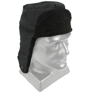 Czech Army Black Fur Hat