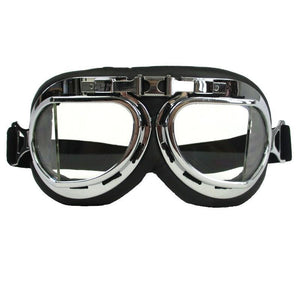 Chrome Flying Goggles