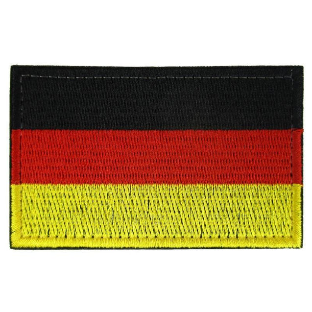 German Flag Embroidered Patch