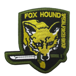 Fox Hound Embroidered Patch