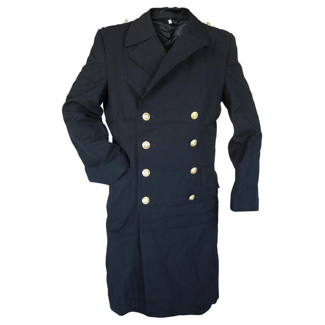 German Navy Overcoat With Liner