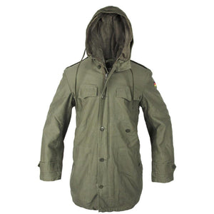 German Olive Drab Lined Parka