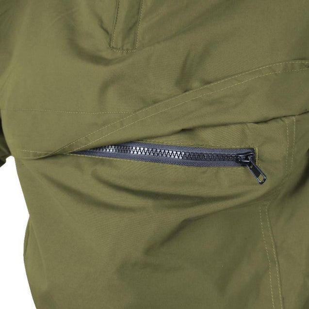 Tactical Fleece Lined Anorak - Olive Drab