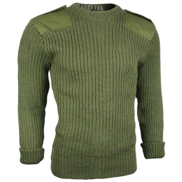 British Army OD Wool Jersey - Grade 2