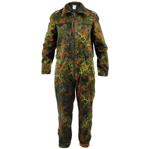 German Flecktarn Tanker Overalls with Liner