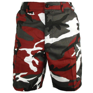 BDU Red Camo Shorts