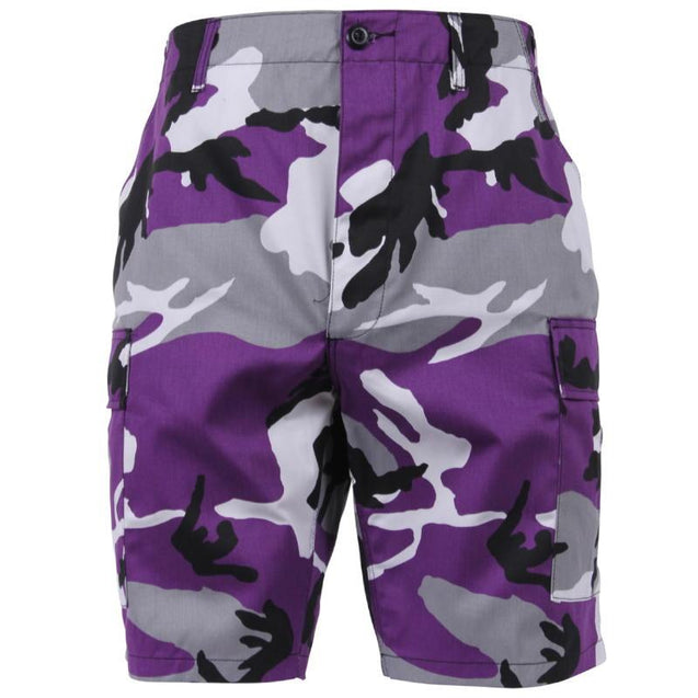 BDU Purple Camo Shorts