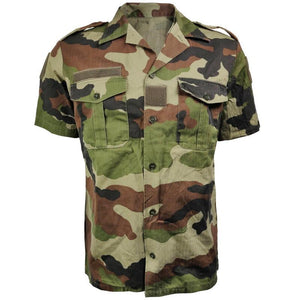 French Short-Sleeve CE Camo Shirt