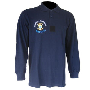 French Marins-Pompiers L/S Polo