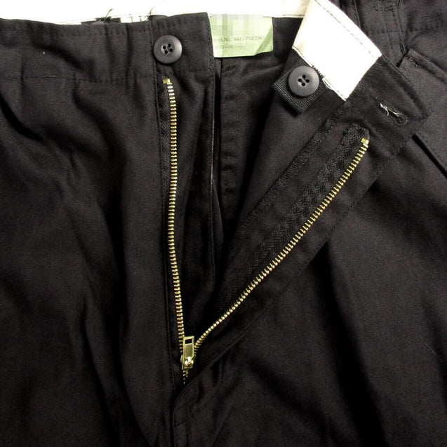 US M65 Style Black Trousers