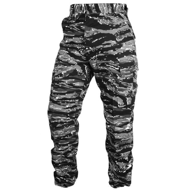 Tactical Camo BDU Pants - Urban Tiger Stripe