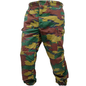 Belgian Army Jigsaw Camo Trousers