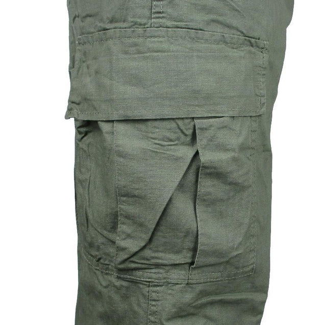 Vintage Vietnam Rip-Stop OD Trousers