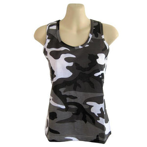 Women's Tank Top Urban Camo