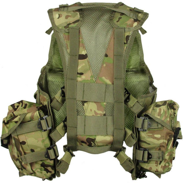 Tactial Assault Vest - Multi Camo