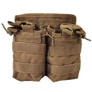 Open Double Magazine Pouch