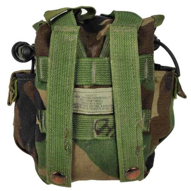 USGI Woodland MOLLE Canteen Pouch
