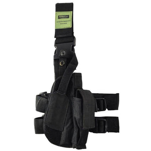 Tactical Black Drop Leg Holster