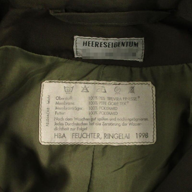 Austrian Army Lined Gore-Tex Jacket