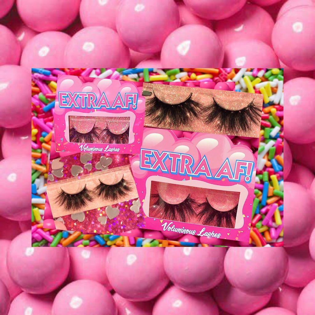 Extra Af! Lashes - Candy Factory Cosmetics