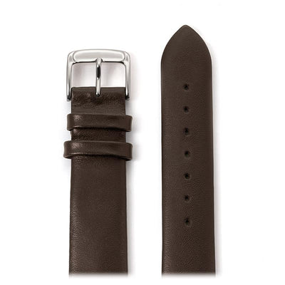 Men's Calfskin Leather Band in Black, Brown, White and Navy