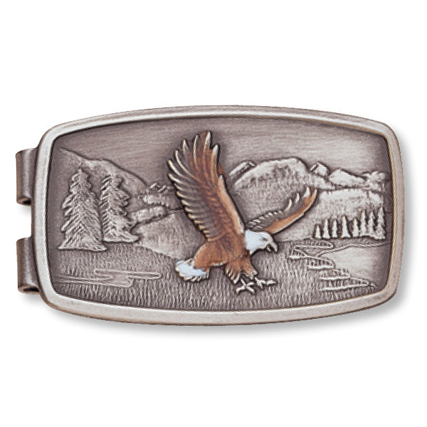 Enamel Eagle Money Clip