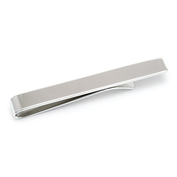 Sterling Silver Polished Tie Bar