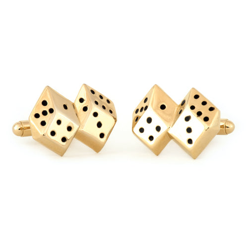 GT Dice Cuff Links