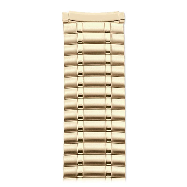 Mens Replacement Watch Band Adjustable Twist O Flex 16mm