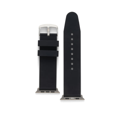 Matching Scrub Watch Band For the Apple Watch in Black, White and Blue