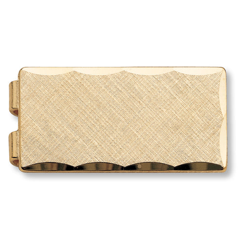 Scalloped Money Clip