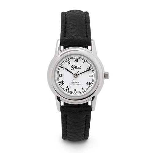 Women's Leather Roman Numeral Watch