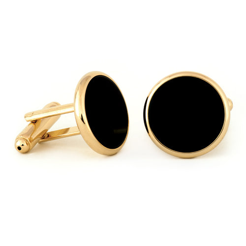 Radius Edge Black Onyx Cuff Links