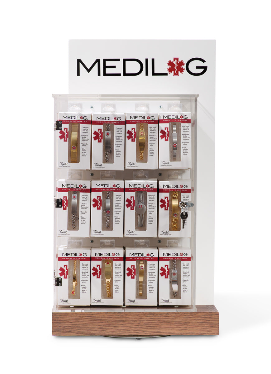Medilog Display with Best Sellers Assortment