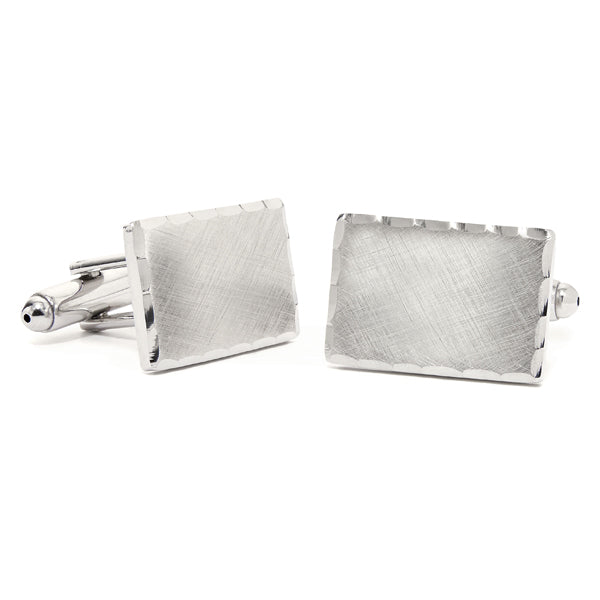 Florentine Scallop Cuff Links