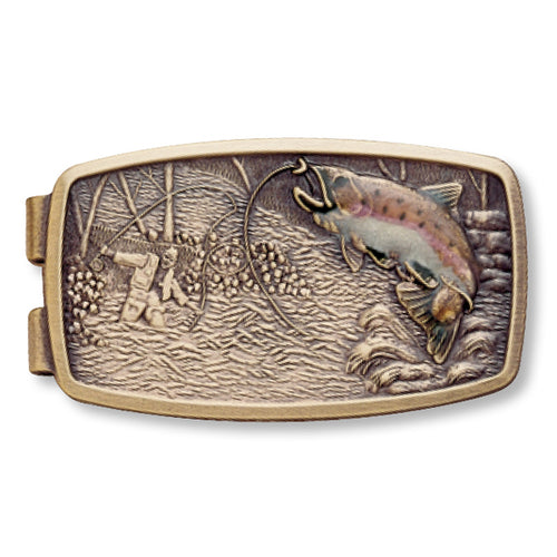 Enamel Fish Money Clip- Made in the USA