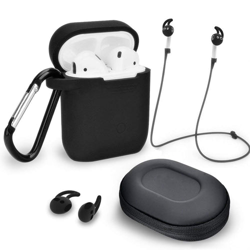 Silicone Apple™ Air Pod Case Protector and Accessories Kit