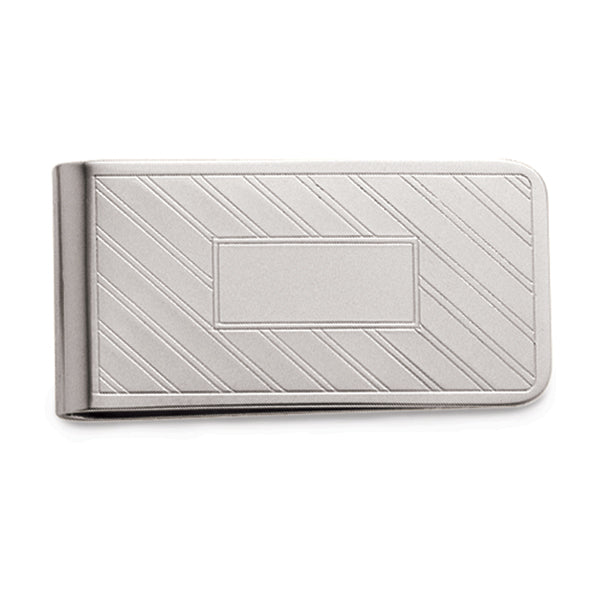 ET Lines w/Rectangle Money Clip