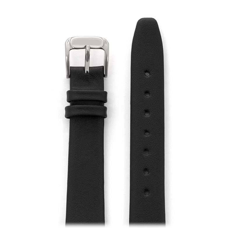 313ffc7ab95 Ladies Classic Calfskin Leather Band in Black