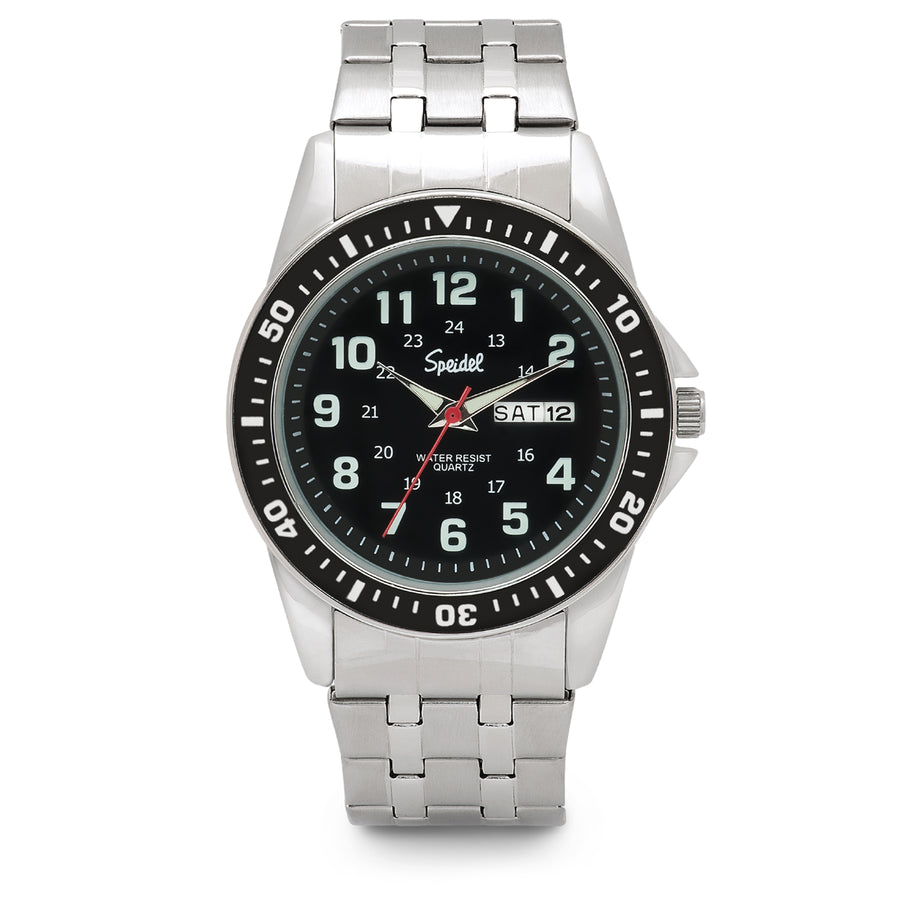 Men's Metal Tachymeter Watch