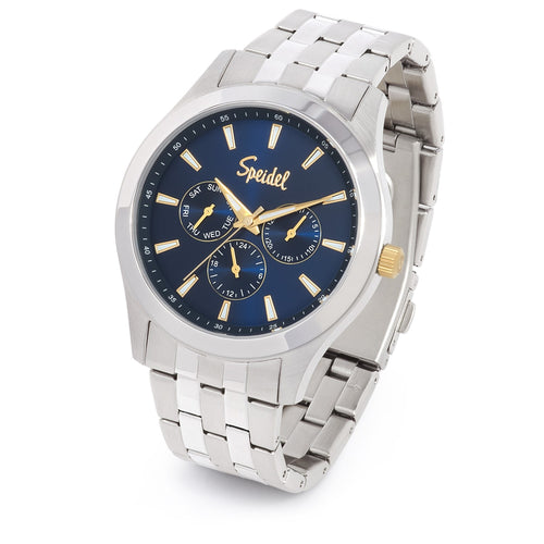 Men's Metal Triple Sub-Dial Watch Collection