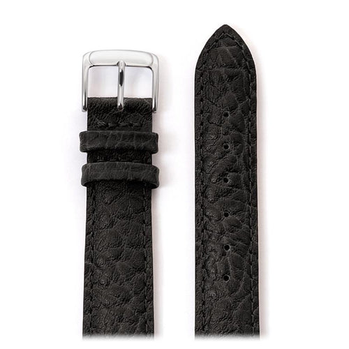 Men's Heavy Texture Buffalo Grain Watchband